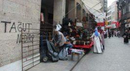 İstanbul'un Çeşitli Sokaklarındaki Esrarengiz Duvar Yazısı Tağut Nedir